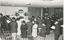 平生記念館 追悼式
