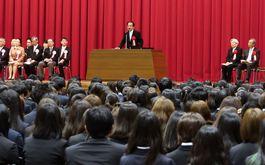 甲南大学入学宣誓式・卒業生昼食会
