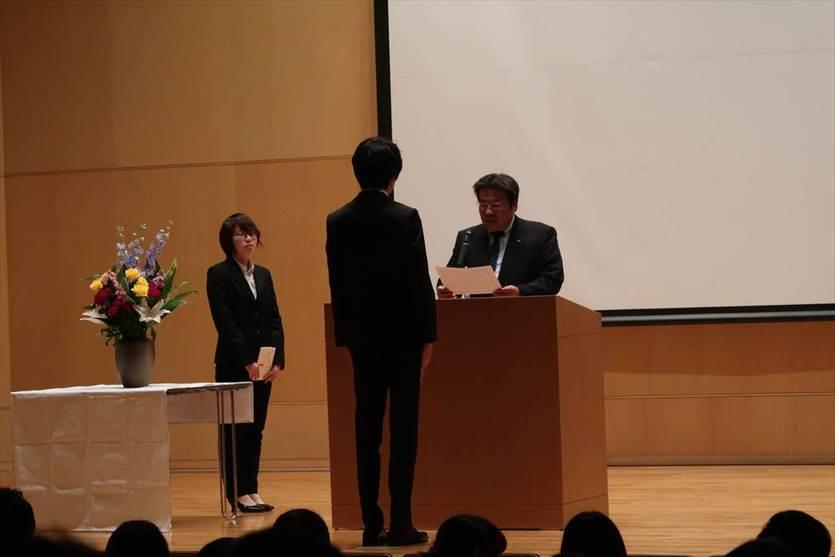 平成29年度「文化会表彰式」