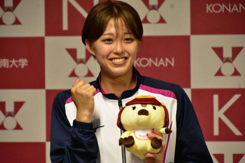 甲南大学1年の青山華依さん東京オリンピック日本代表に内定