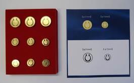 ブレザー用ボタン(大3個・小6個) 価格:4,000円