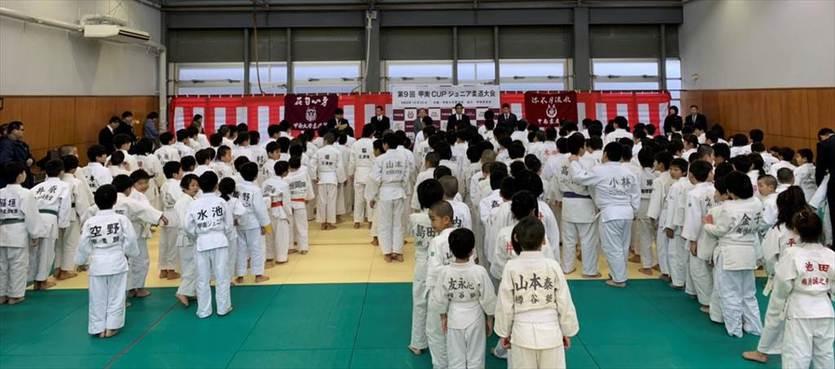 「第9回甲南CUPジュニア柔道大会」開催されました