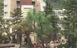 1号館キャンパス風景(1987年)