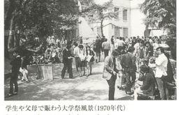 キャンパス風景(1970年代)